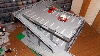 Building A Lego Parking Garage