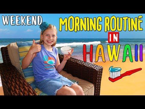 Alyssa's Weekend Morning Routine