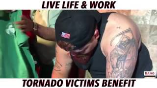 LIVE LIFE & WORK: TORNADO VICTIMS BENEFIT! LOL FUNNY LAUGH COMEDIANS