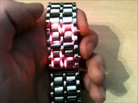"""""""Lava"""" LED Watch Review - By Stormium"""