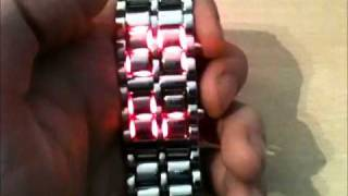 """Lava"" LED Watch Review - By Stormium"