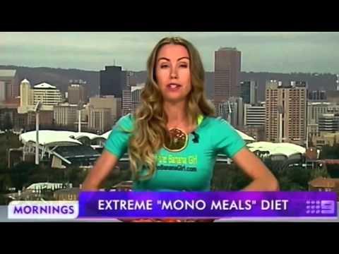 Banana Girl schooled Australia TV Morning show interviewer live! freelee's bikini diet