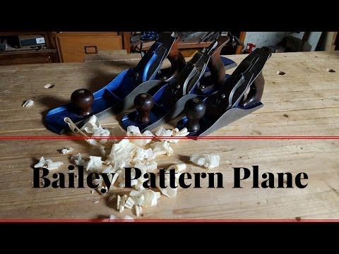 What is a Bailey Pattern Plane How to Adjust a Stanley