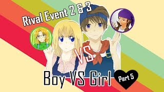 Hoax Harvest Moon Back To Nature : Boy Vs Girl 5 Rival event 2 & 3