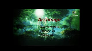 Archeage-Defiler vs Primeval