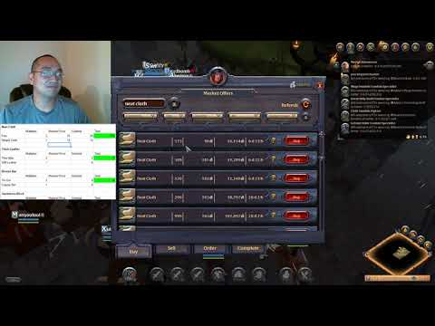 Albion Online Auction House Snapshot EP1