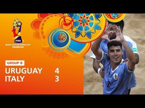 Uruguay V Italy [Highlights] - FIFA Beach Soccer World Cup Paraguay 2019™
