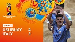 Uruguay v Italy Highlights FIFA Beach Soccer World Cup Paraguay 2019