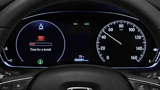 How to Use the Driver Attention Monitor on the 2018 Honda Accord