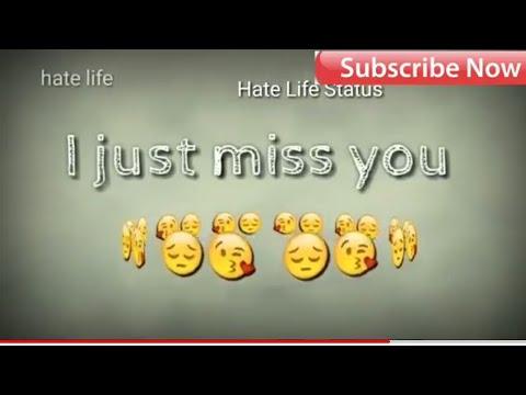 I Miss U So Much 30 Sec Status Videoswhatsapp Status Videos Youtube