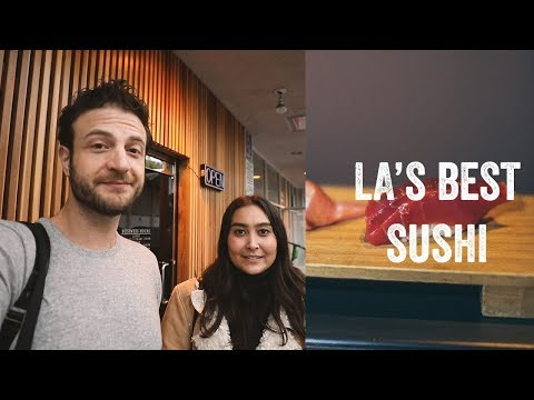 Brunch Boys Eats LA's Best Sushi With Sydney Yorkshire From @whatcouldbebutter At Kura