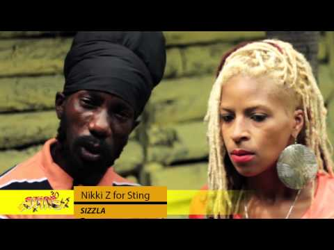 Nikki Z Journeys With Sizzla - Interview DNZ TV (@DivaNikkIZ) Sting 2013