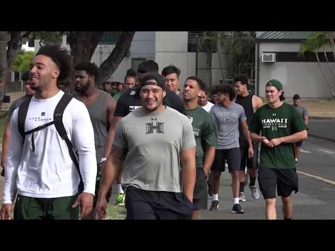 University of Hawaii Football: Operation Lightning Warrior