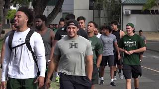 University of Hawaii Football: Operation Lightning Warrior