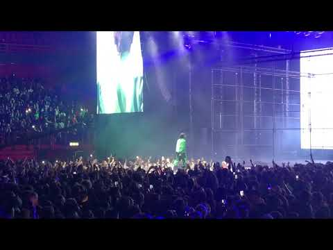 A$AP Rocky Angels live in Ericsson globe, Stockholm