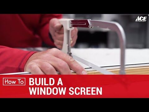 Build A Window Frame - Ace Hardware