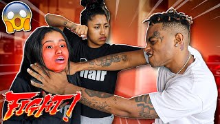 I GOT IN A FIGHT WITH MY GIRLFRIEND'S TWIN SISTER *THEY JUMPED ME*