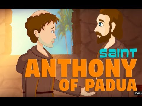 Story of Saint Anthony of Padua | English | Story of Saints For Kids