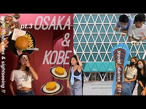 { travel_diaries_011 } 神戸旅行 ~ SUMMER IN OSAKA #3 | signtseeing, bday & kobe food !!