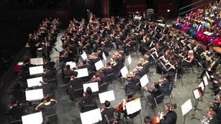 SPRING SONG (1902) by Jean Sibelius, 2014 NJ All-State Orch., Patrick Burns, Dir.