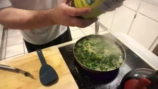John Can Cook - Kale & Pastina Soup