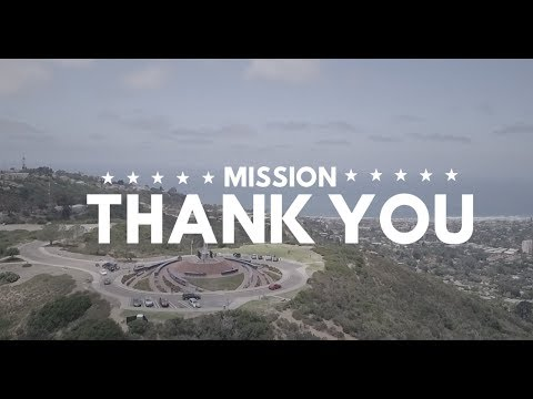 """MISSION: """"THANK YOU""""  / Giveaway #1"""
