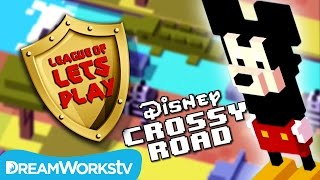 Disney Crossy Road with Finsgames | LEAGUE OF LET'S PLAY
