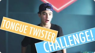 TONGUE TWISTER CHALLENGE with Bailey May