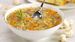 Как приготовить грибной суп еще вкуснее. Рецепт от Всегда Вкусно!