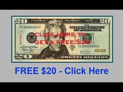 Free Legitimate Work From Home Jobs Website Get Free $20 Bill