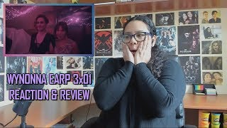 """Wynonna Earp 3x01 REACTION & REVIEW """"Blood Red And Going Down"""" S03E01 