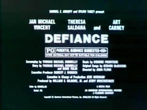 Defiance 1980 TV trailer
