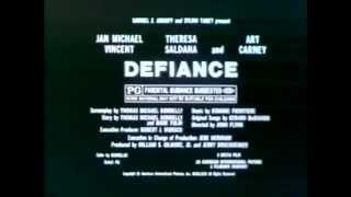 Defiance 1980 TV trailer