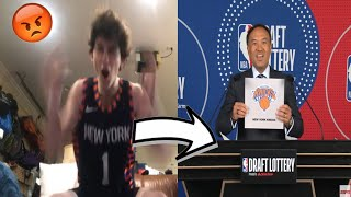Fans reactions to the 2020 NBA DRAFT Lottery