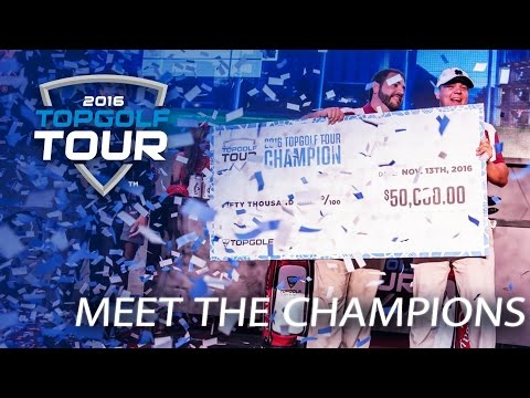 Meet the Champions | 2016 Topgolf Tour | Topgolf