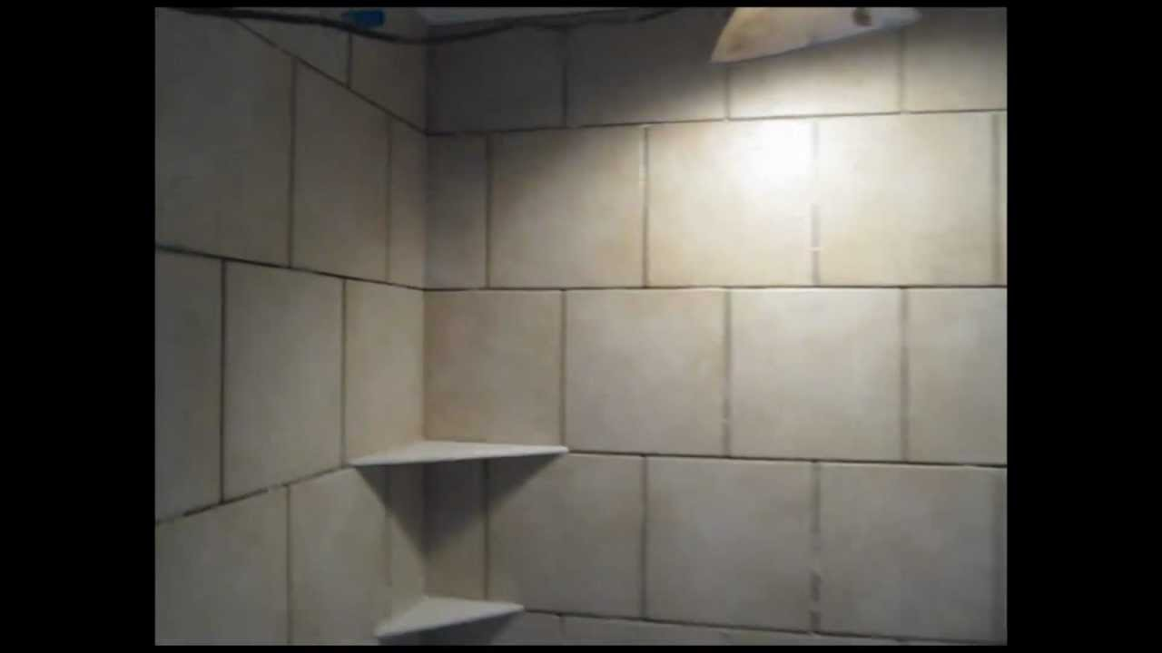 Ceramic Tile Running Bond Bathroomtub Area Youtube