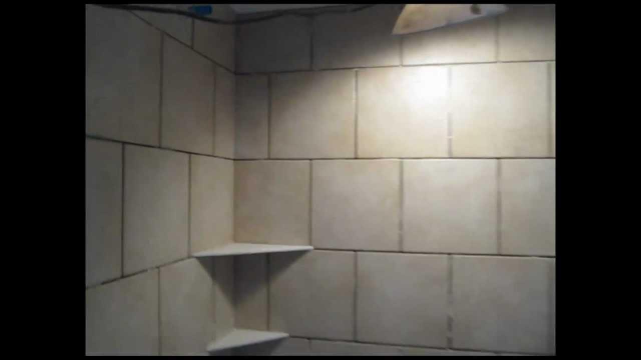 Ceramic Tile Running Bond bathroomTub Area  YouTube