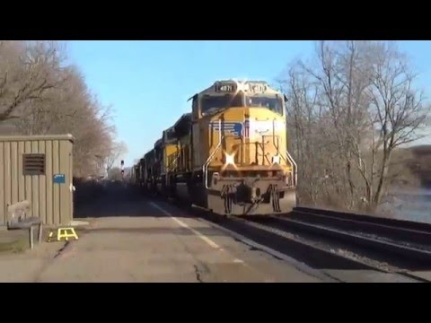 Foreign Power, Friendly Crews, and an NPCU!  Trains at Amsterdam, NY