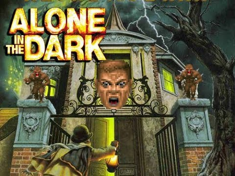 Alone In The Dark 1992 Dos Review Birth Of A Genre Youtube