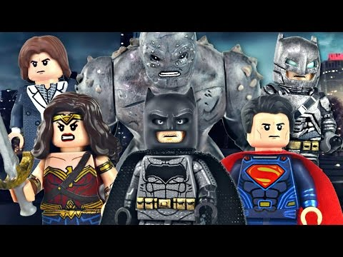LEGO Batman v Superman : Dawn of Justice Minifigures - Showcase