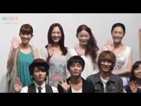 『東京無印女子物語』初日舞台挨拶が2012年6月16日に行われた。 ムビコレTOPはこちら http://www.moviecollection.jp/