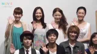 『東京無印女子物語』初日舞台挨拶が2012年6月16日に行われた。 ムビコ...