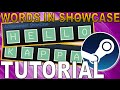 Add LETTERS To Steam Achievement Showcase [Tutorial]