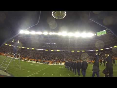 D&B GoPro footage from halftime at the Chiefs-Broncos game