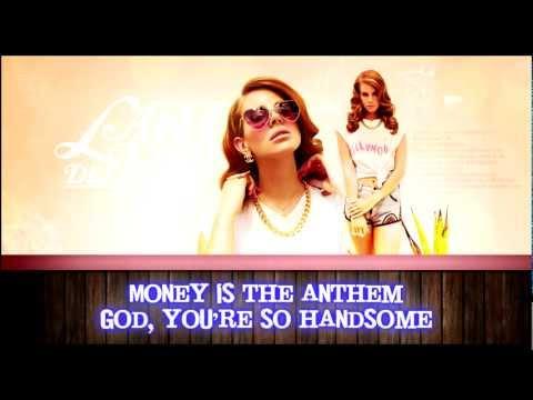 Lana Del Rey - National Anthem Karaoke HD