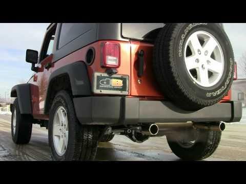 dB Performance Exhaust by CORSA Jeep Wrangler JK pn 24412