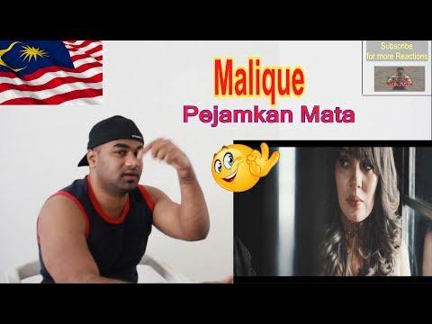 Malique - Pejamkan Mata (feat. Dayang Nurfaizah)   |Reaction |Aalu Fries