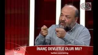 İhsan Eliaçık Diyanet İşleri İslamiyete Aykırıdır, İslamiyette Böyle Bir Kurum Yoktur.