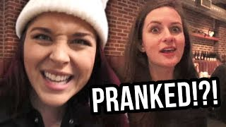 PRANKING OUR PRODUCER IN CANADA! (Lunchy Break)