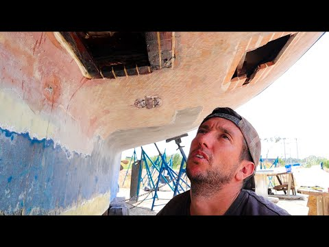 Caulking our wooden Sailboat, the Old School way.... Ep 181 from YouTube · Duration:  9 minutes 29 seconds